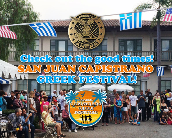 Check out the San Juan Capistrano Greek Festival!